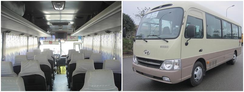 29 seats Huyndai County - Danang Private Taxi