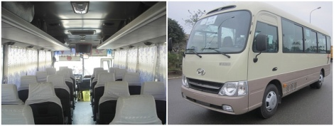 29 seats Huyndai County - Danang Private Taxi