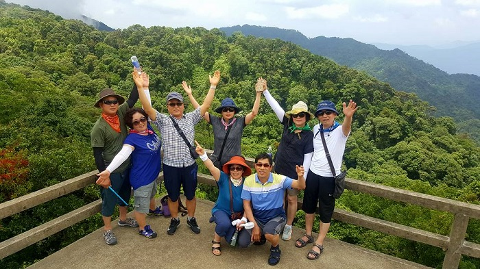 Danang to Bach Ma national park day tour