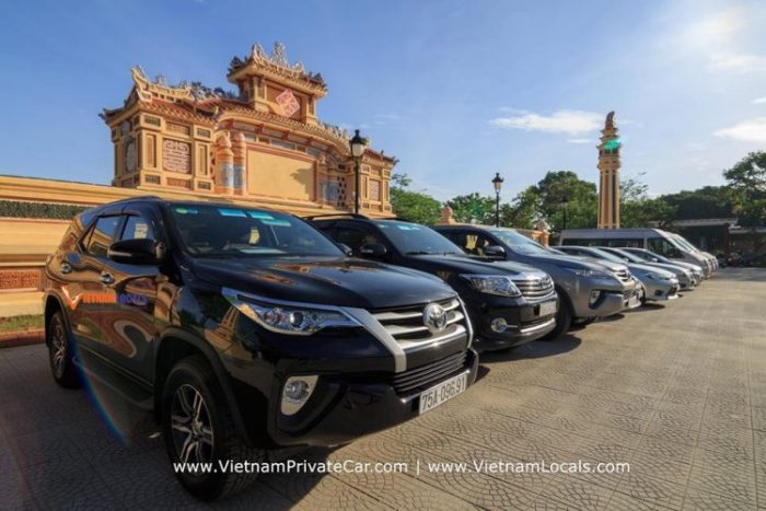 Danang – Hue – Danang by private taxi