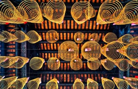 Inside Thien Hau Pagoda