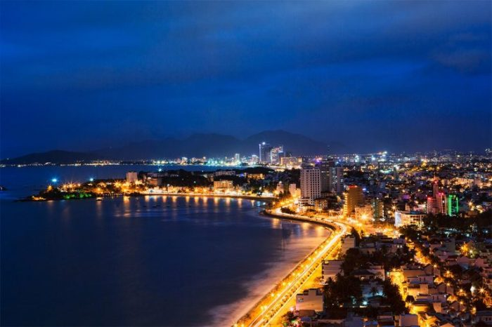 Nhatrang City by private taxi