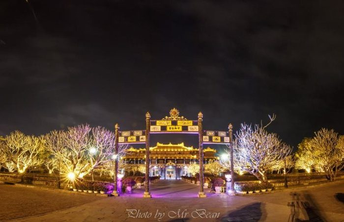 Hue-Imperial-Citadel-by-night