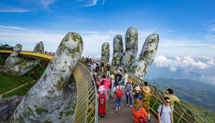Golden Bridge, Bana Hills, Danang, Vietnam
